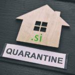 Kaj pomeni, če je .SI domena v karanteni?