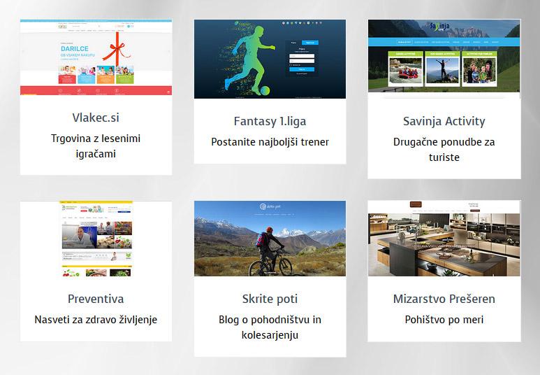 Spletne strani - reference Primoss
