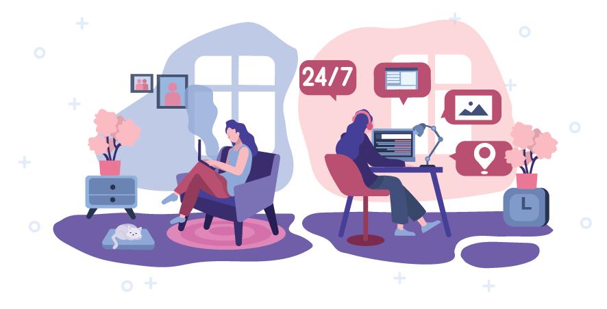 Tehnična podpora uporabnikom gostovanja